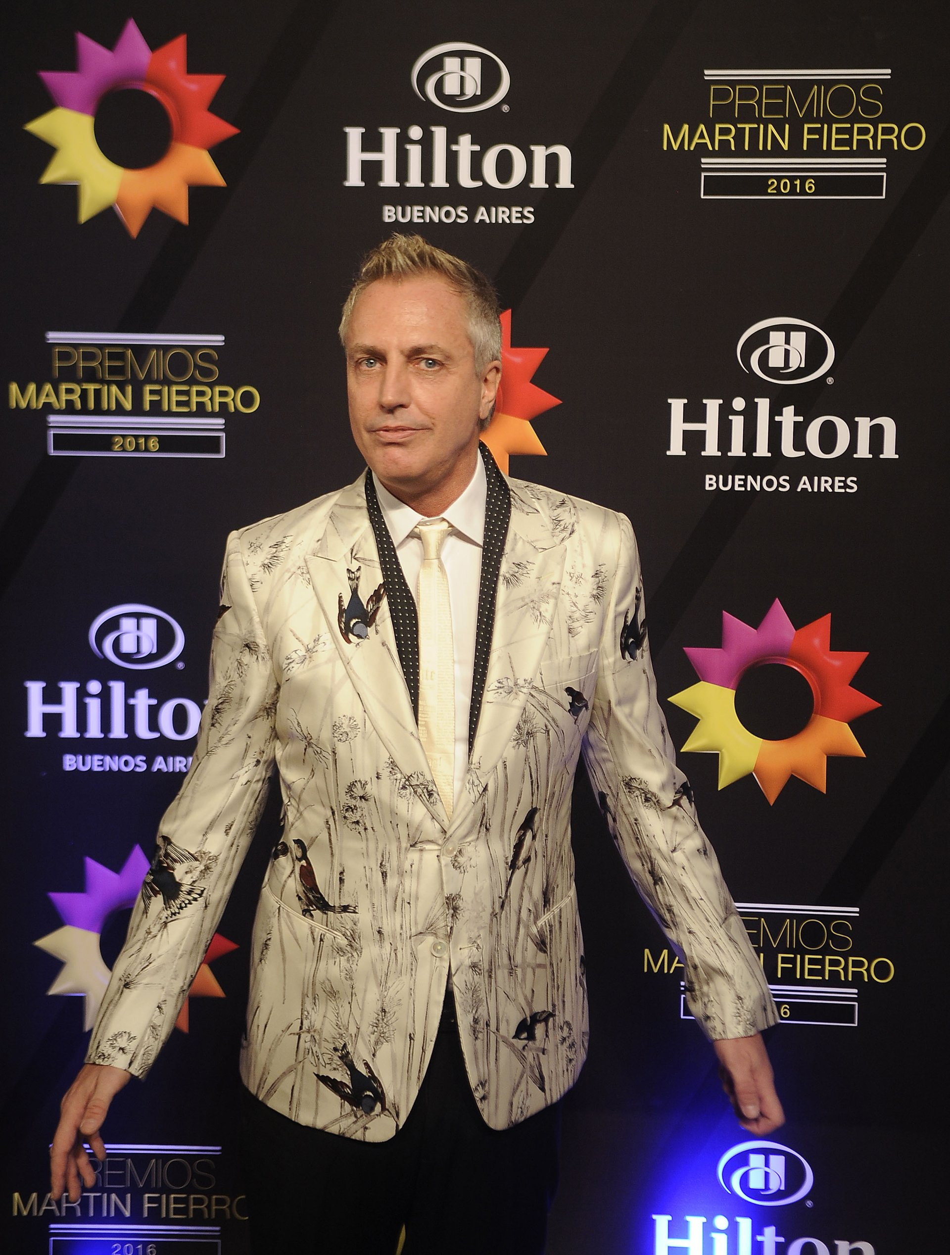 Alejandro Wiebe, Marley, rompió el molde con un osado modelo que no pasó inadvertido para los asistentes a la noche de los Martín Fierro.