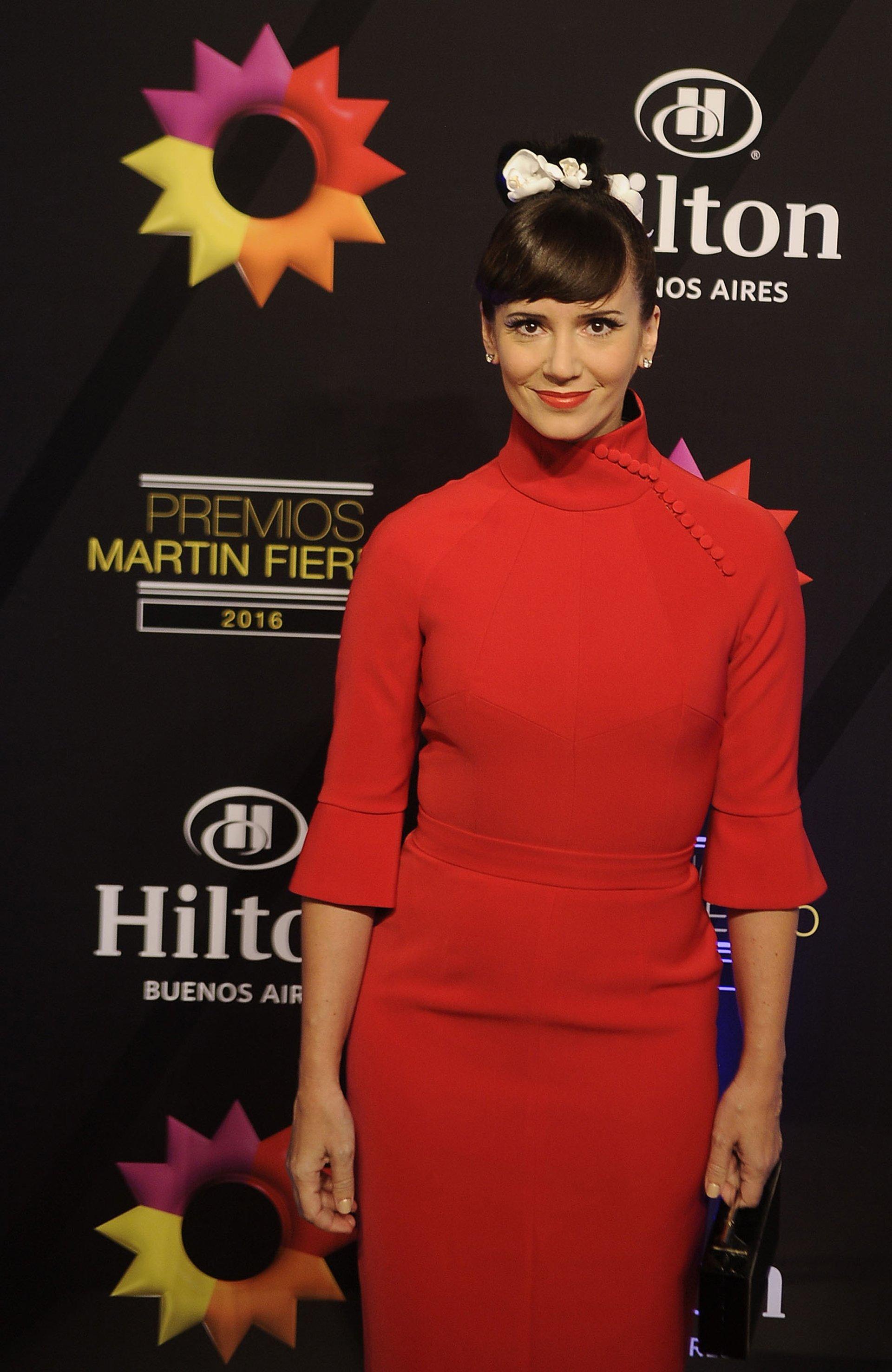 Griselda Sciliana mostró un vestido de Pablo Ramírez